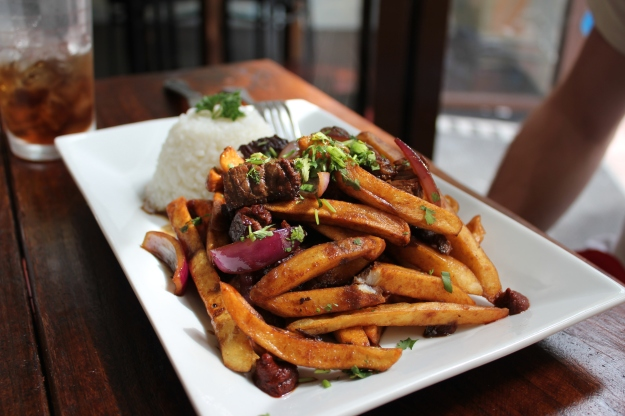 """Lomo Saltado"", another dish from heaven."