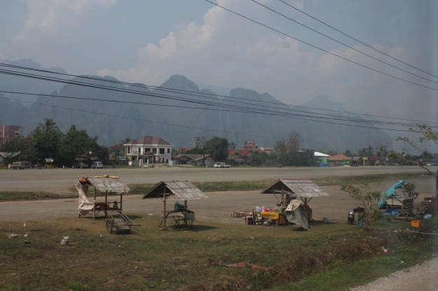 road from Viantine to Luang Prabang