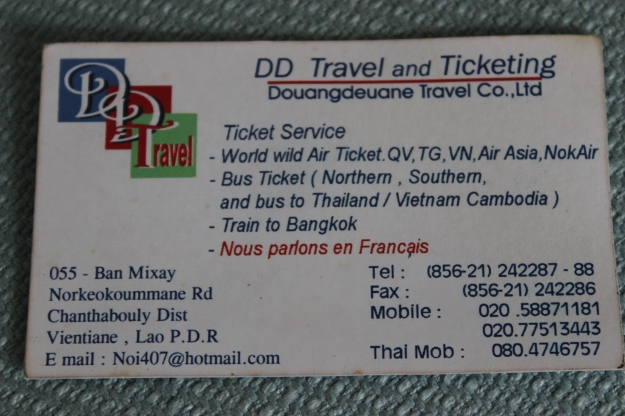 DD Travel and Ticketing contact information