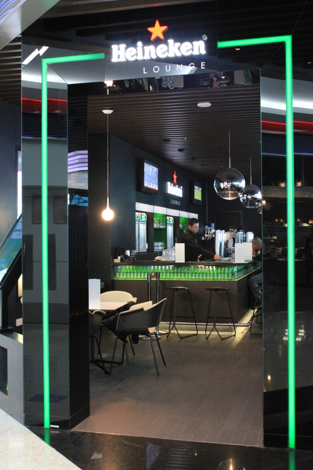 Heineken Lounge, Dubai airport