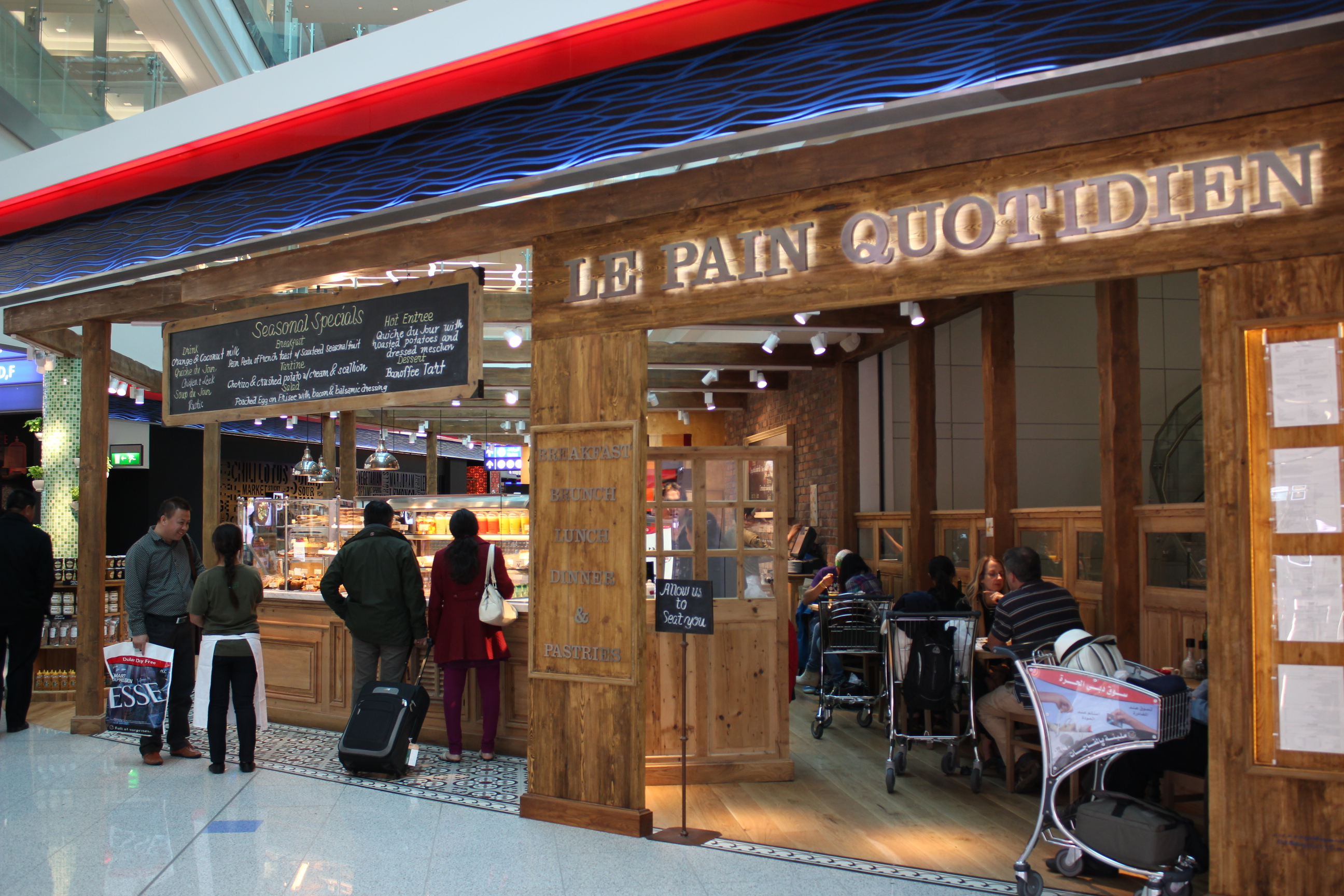 Image result for terminal 3 le pain quotidien""