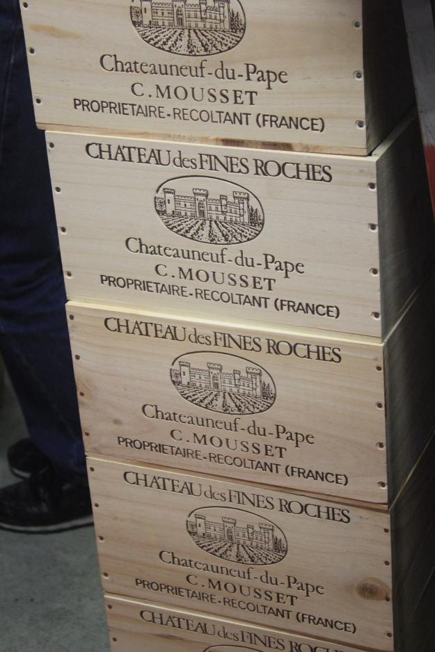 Vignobles Mousset-Barrot, Châteauneuf-du-Pape
