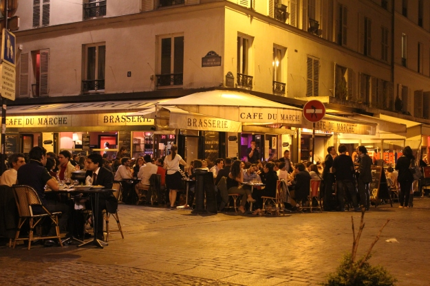 Rue Cler and Cafe du Marche