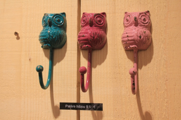 owl clothes hooks