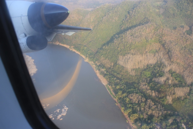 take off from Luang Prabang