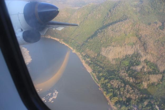 take off from Luang Prabang
