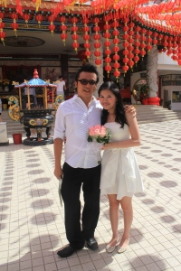 Thean Hou Temple wedding