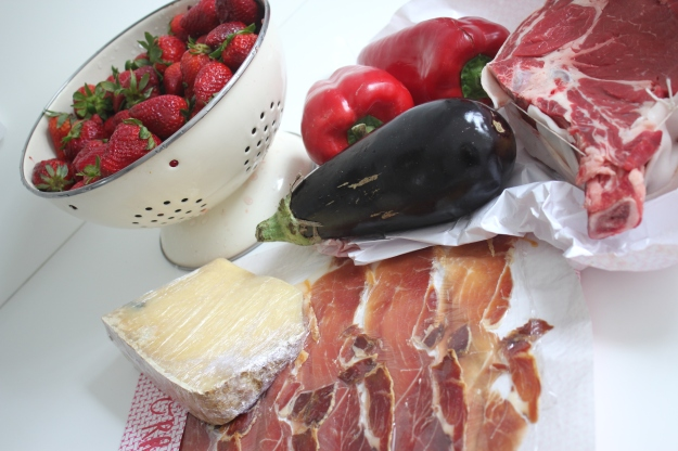 food from the Bastille Market