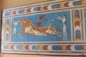 The Bull-Leaping Fresco