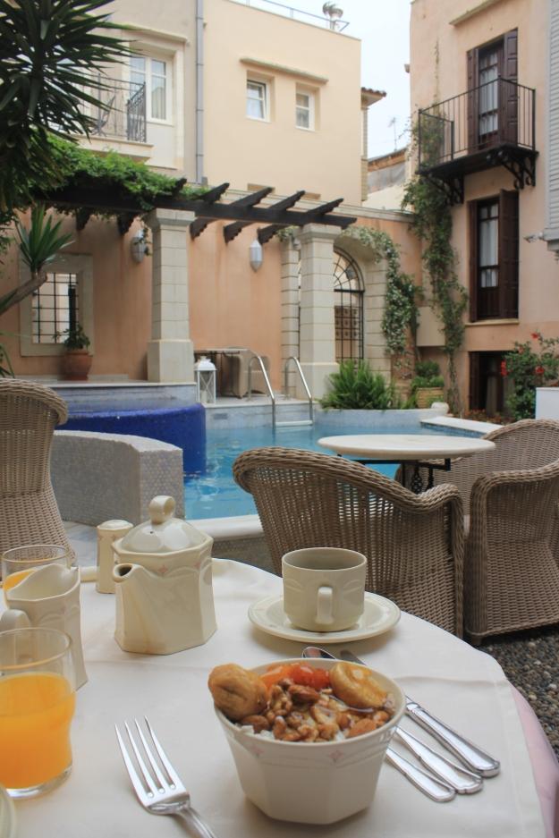 breakfast at Palazzo Rimondi