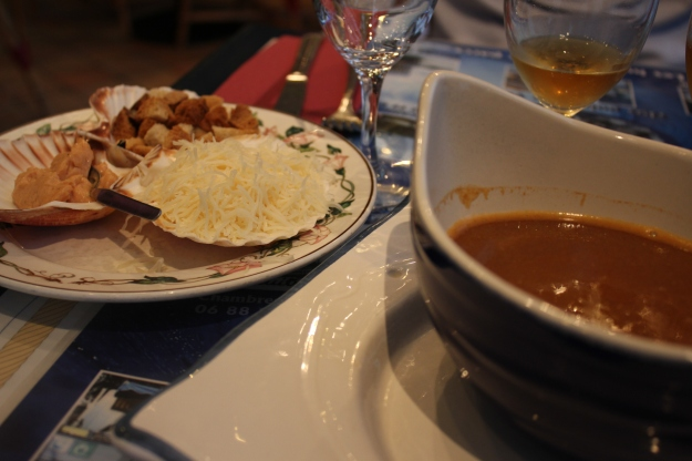 fish soup L'huitrière
