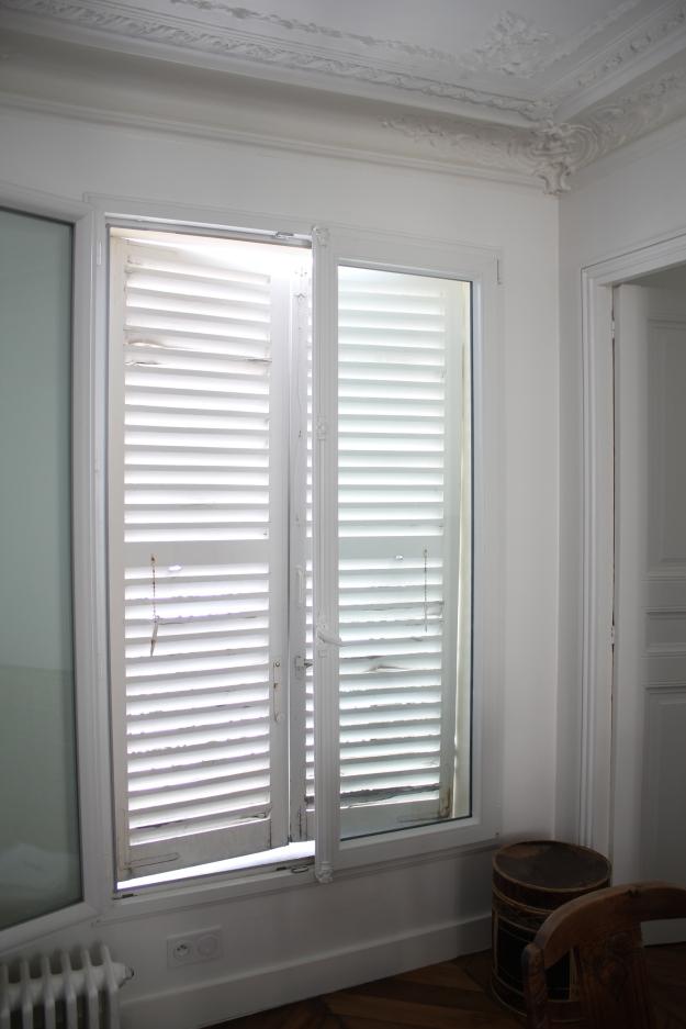 Parisian shutters