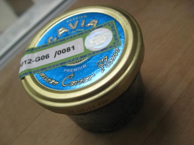 osetrova caviar from Russia