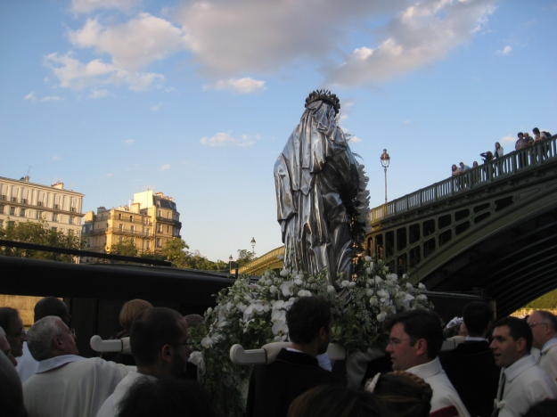 Assumption of the Virgin Mary in Paris