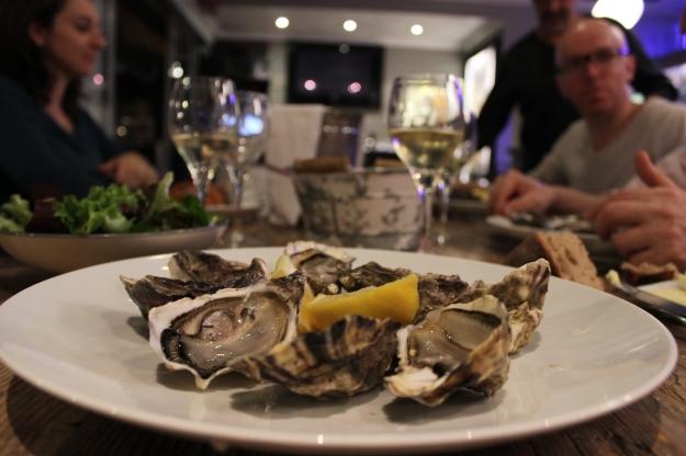 oysters at Le Cabanon de l'Écailler