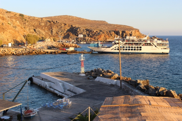 Southern Crete by ferry