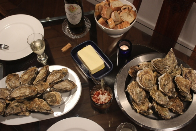 oysters from Normandy