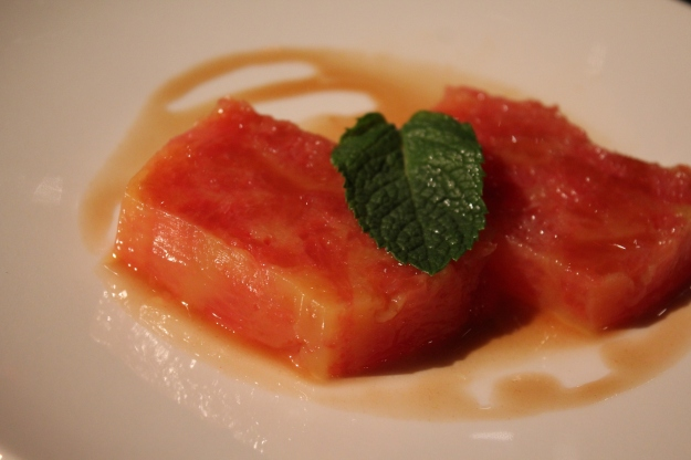 grapefruit terrine