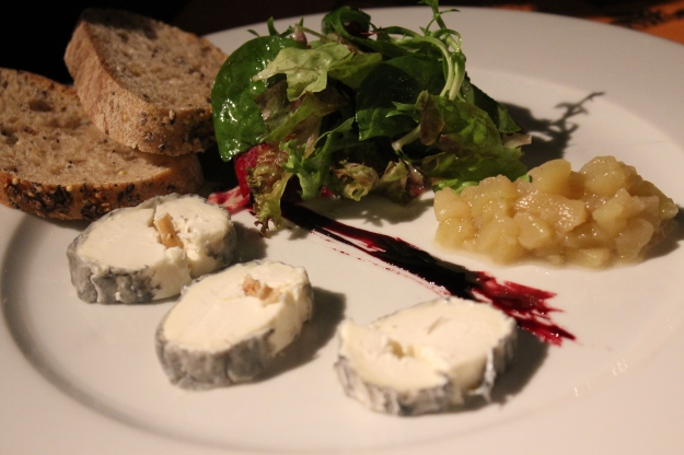goat cheese plate