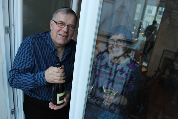 champagne for aperitif