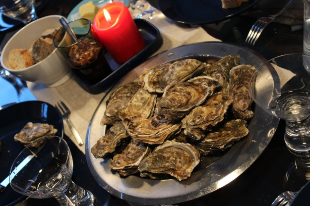oysters from Cancale