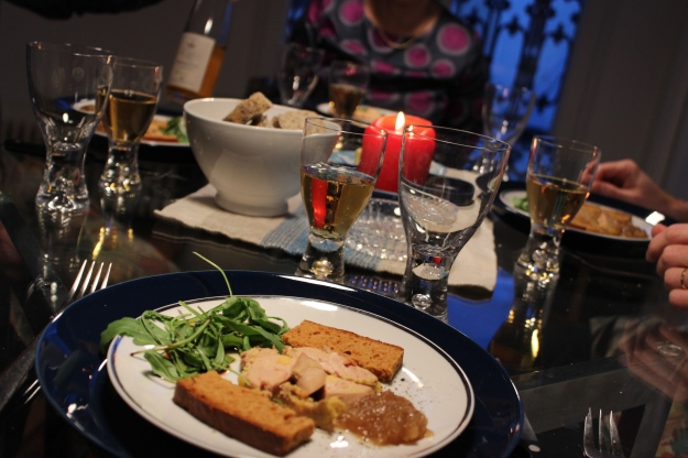 foie gras at Christmas