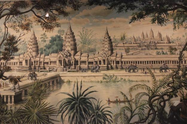 Angkor exhibition, museum Guimet