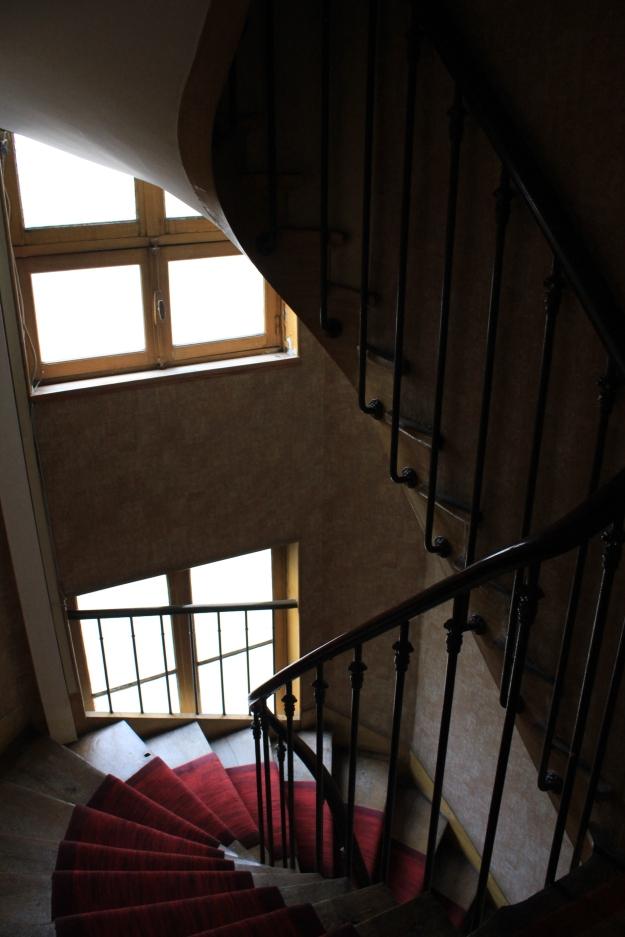 Parisian stairway