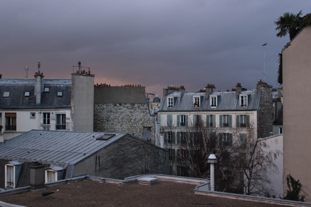 Paris before the storm