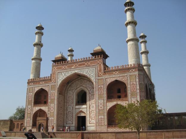 Sikandra, Akbar's tomb