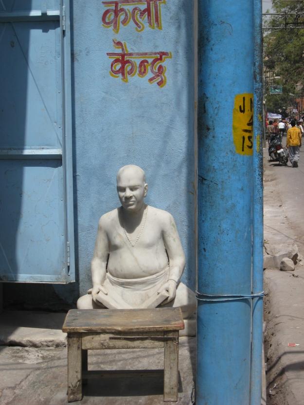 Jaipur, marble statue