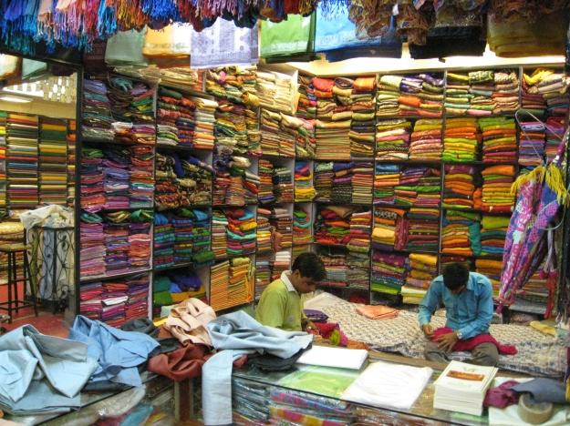 textile shop, Jaipur
