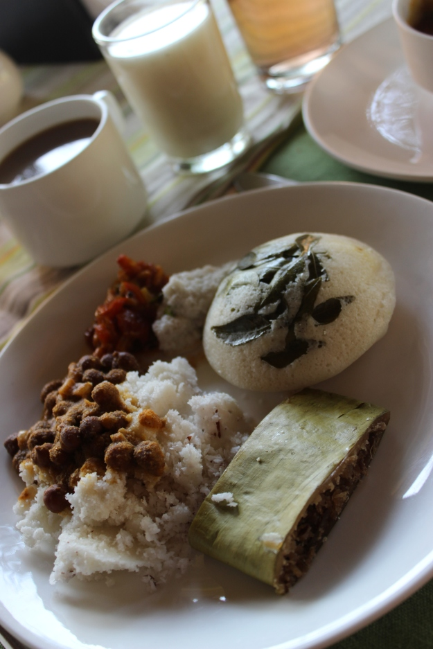 Kerala breakfast