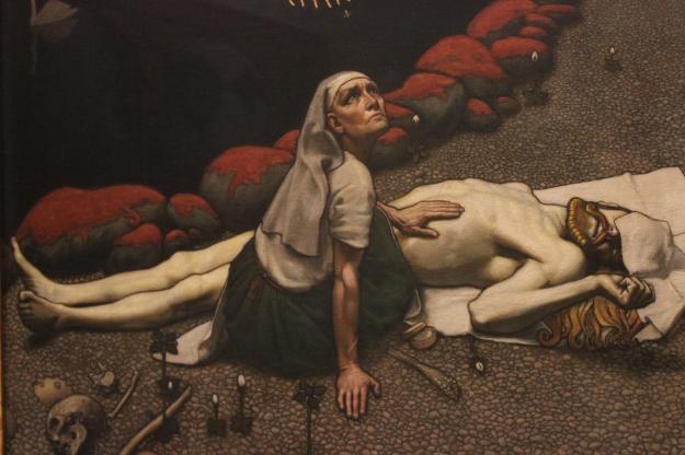 Lemminkäinen's Mother by Akseli Gallen-Kallela