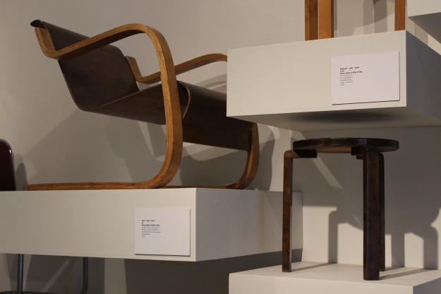 Alvar Aalto chairs at Design Museum