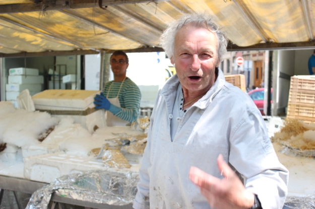 Fishmonger from Brittany