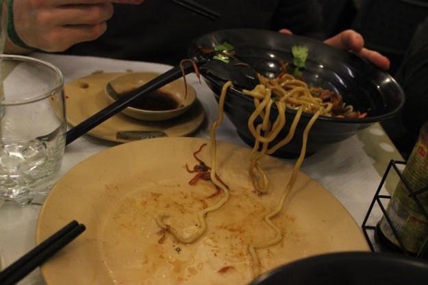 Noodles at Chez Van