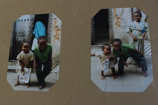 Children in the Stone Town (they don't have any relevance to the story).