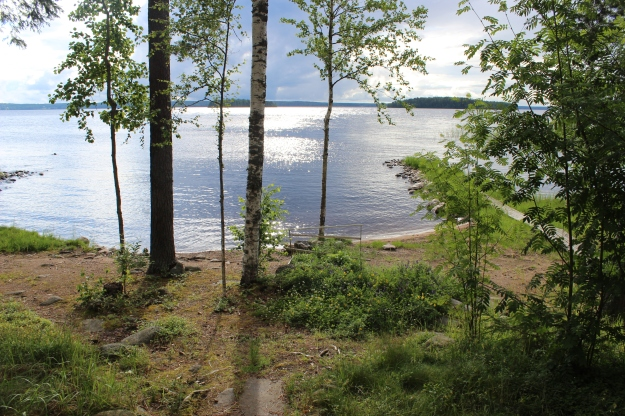 No need to look further for peace and calm. Finnish lake scenery at its best.